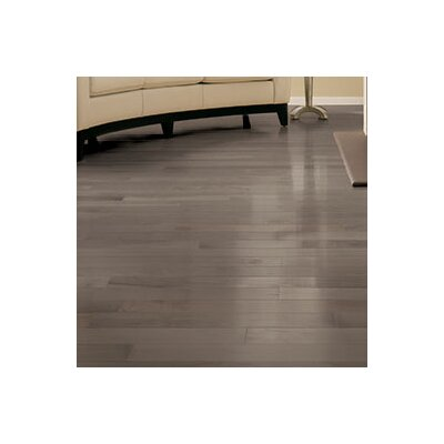 Specialty 4 Solid Maple Hardwood Flooring in Greystone