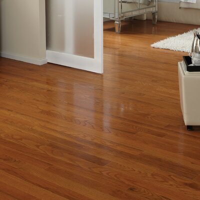 Classic 3-1/4 Engineered Oak Hardwood Flooring in Butterscotch