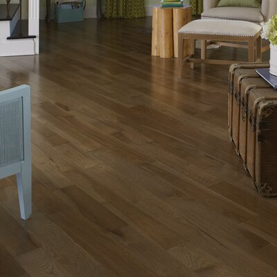 Specialty 4 Solid Hickory Hardwood Flooring in Moonlight