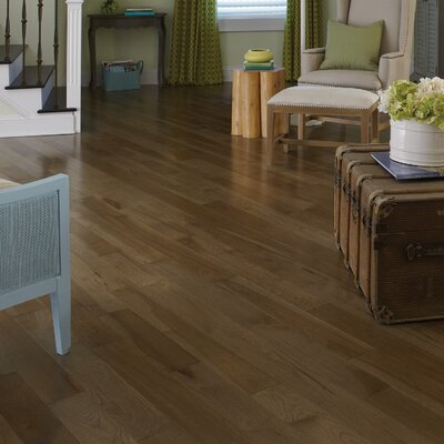 Specialty 3-1/4 Engineered Hickory Hardwood Flooring in Moonlight