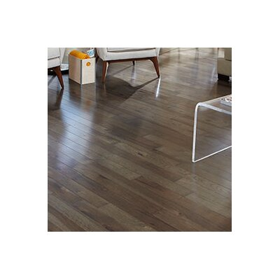 Character 4 Solid Hickory Hardwood Flooring in Ember