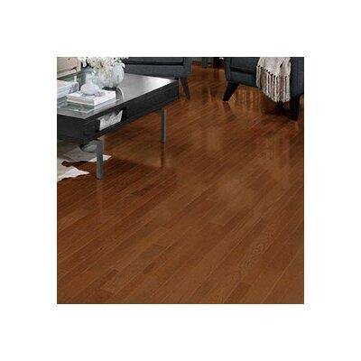 Homestyle 2-1/4 Solid Red Oak Hardwood Flooring in Gunstock