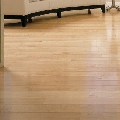 2-1/4 Solid Maple Hardwood Flooring in Natural
