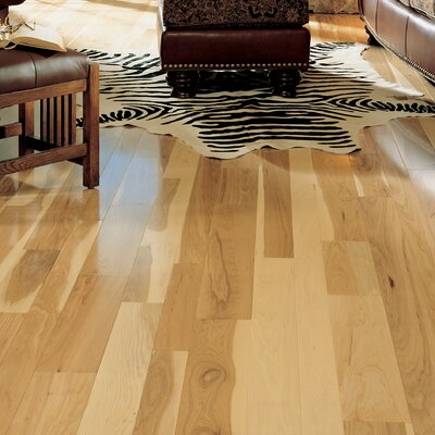 Specialty 5 Solid Hickory Hardwood Flooring in Natural Hickory
