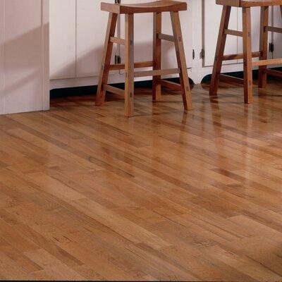 3-1/4 Solid Maple Strip Hardwood Flooring in Tumbleweed
