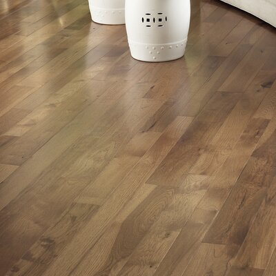 Character 3-1/4 Engineered Hickory Hardwood Flooring in Hickory Saddle