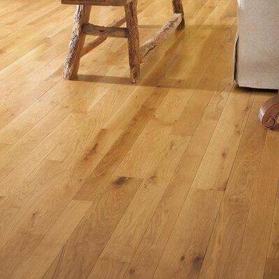 Character 5 Engineered White Oak Hardwood Flooring in Natural