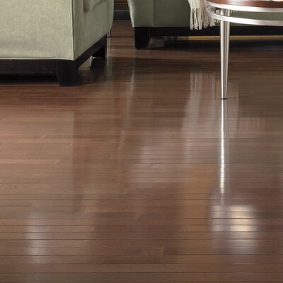 Color Plank 5 Engineered White Oak Hardwood Flooring in Metro Brown