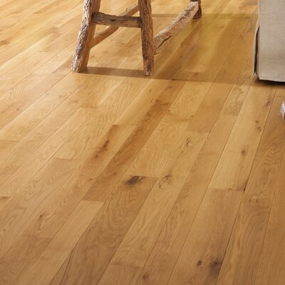 Character 3-1/4 Engineered White Oak Hardwood Flooring in Natural