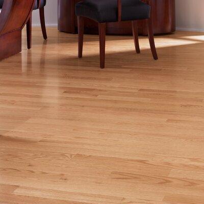 Color Plank 5 Engineered Red Oak Hardwood Flooring in Natural