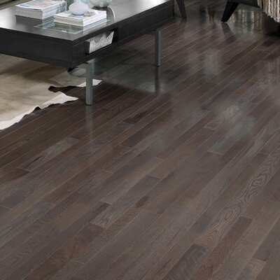 Homestyle 2-1/4 Solid White Oak Hardwood Flooring in Charcoal