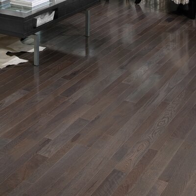 Homestyle 3-1/4 Solid White Oak Hardwood Flooring in Charcoal