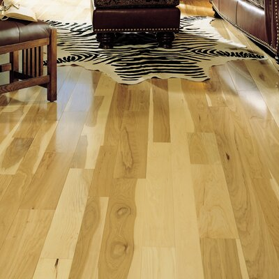 Specialty 5 Engineered Hickory Hardwood Flooring in Natural