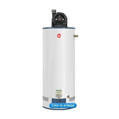 water heater price list review for rheem 43vp50e2 n a power vent 50 gallon tall natural gas. Black Bedroom Furniture Sets. Home Design Ideas