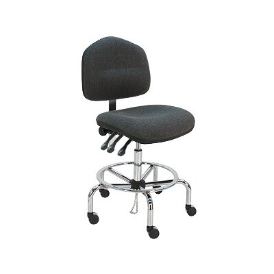 Eco-Friendly Cleanroom Lab Drafting Chair with Cushion