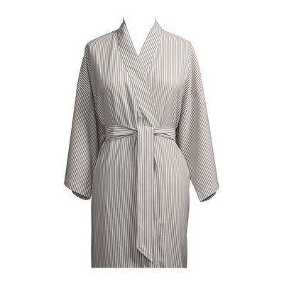 Telegraph Hill Luxury Lightweight Soft Microfiber Spa Bathrobe Size: One Size Fits Most, Color: Taupe