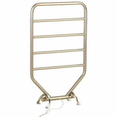 Warmrails Traditional Wall Mounted/Free Standing Towel Warmer Rack Finish: Nickel