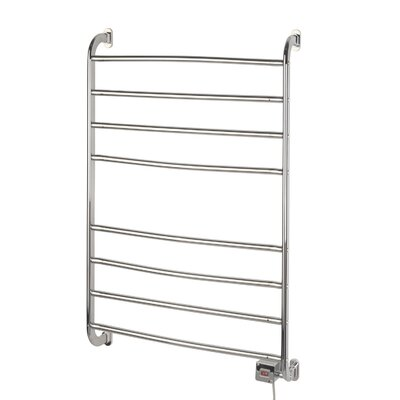 Warmrails Kensington Wall Mount Towel Warmer Rack Finish: Chrome
