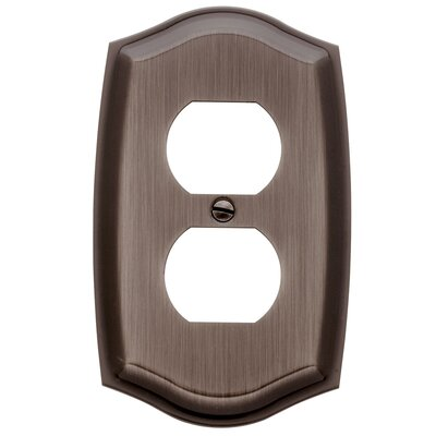Colonial Design Single Duplex Switch Plate Finish: Venetian Bronze