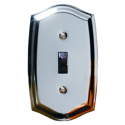 Colonial Design Single Switch Wall Plate Finish: Polished Chrome