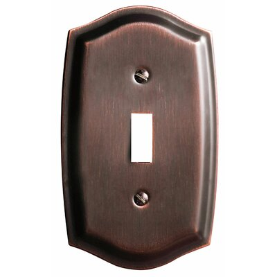 Colonial Design Single Switch Wall Plate Finish: Venetian Bronze