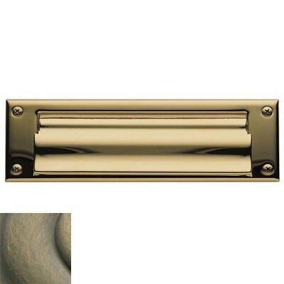 Baldwin 10 In X 3 Brass Mail Slot