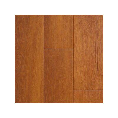 Exotic 3-5/8 Solid Kempas Hardwood Flooring in Natural