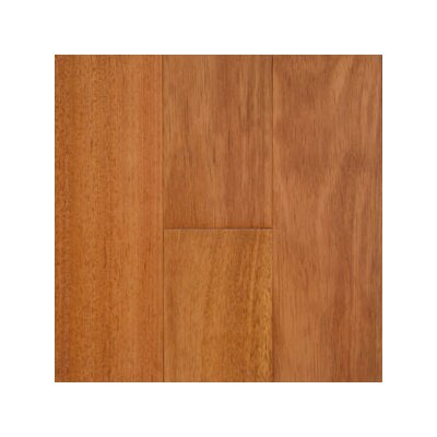 Solid Exotic 4-3/4 Solid Kempas Hardwood Flooring in Natural
