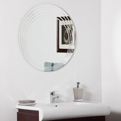 Bryn Modern Bathroom Mirror