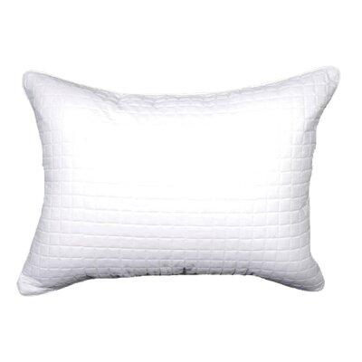 Sophia Sham Size: King, Color: White / White