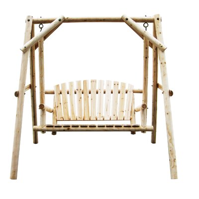 Porch Swing Finish: Natural