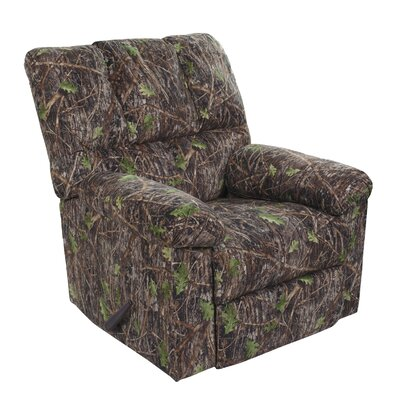 True Timber Camouflage Rocker and Recliner Glider Chair