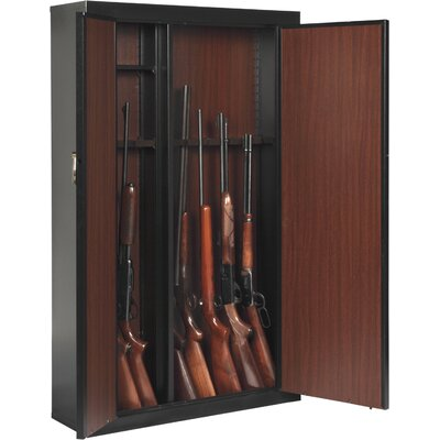 Bon American Furniture Classics Woodmark 16 Gun Cabinet In Black