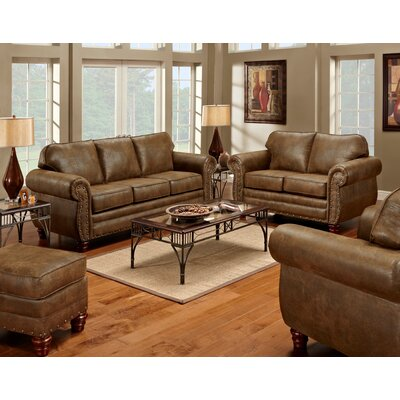 Sedona 4 Piece Living Room Set with Sleeper Sofa