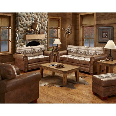 Alpine Lodge 4 Piece Living Room Set