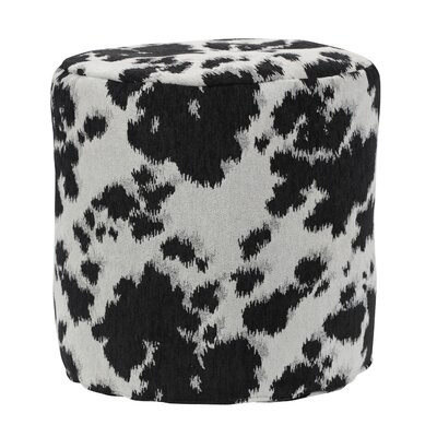 Cow Udder Madness Pouf Upholstery: Black / White