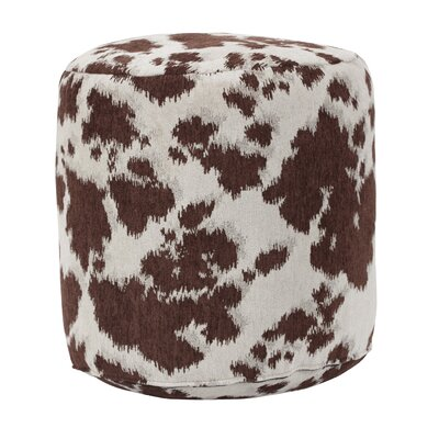 Cow Udder Madness Ottoman Upholstery: Brown / White