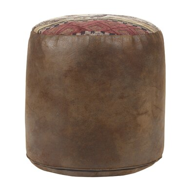 Deer Valley Tapestry Pouf
