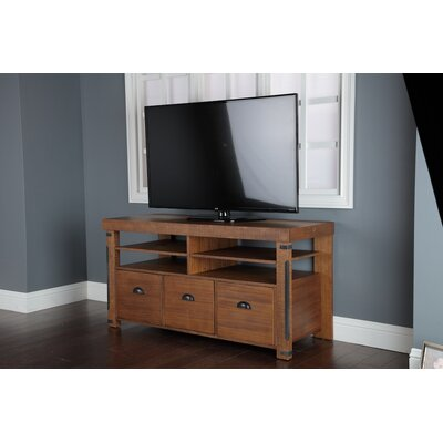 TV Stand with 3 Large File Drawers