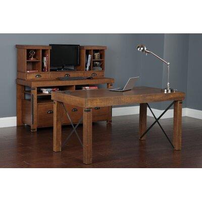 Industrial 3 Piece Desk Office Suite