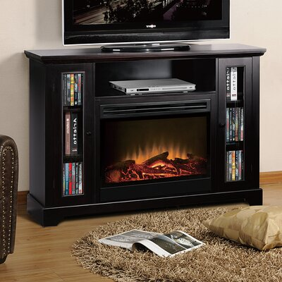 55 TV Stand with Fireplace