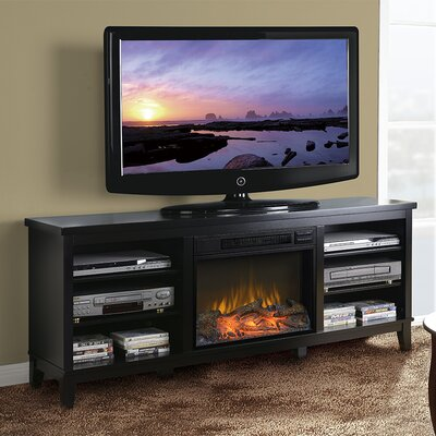 66.5 TV Stand with Fireplace