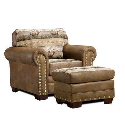 American Furniture Classics Lodge Rocky Mountain Elk Chair