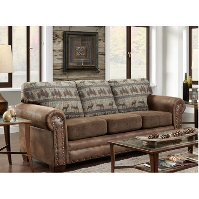 Teal Deer Lodge Sleeper Sofa