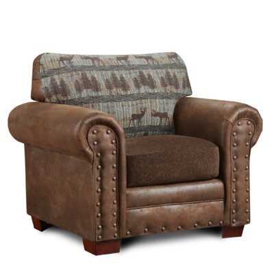 Deer Lodge Upholstered Armchair