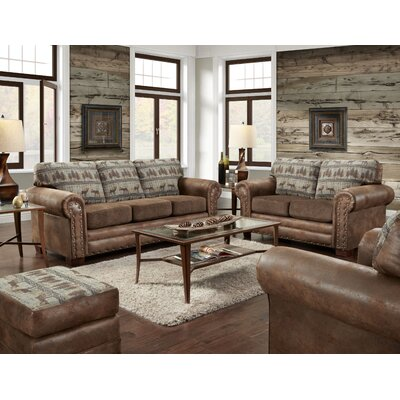 Deer Lodge 4 Piece Living Room Set