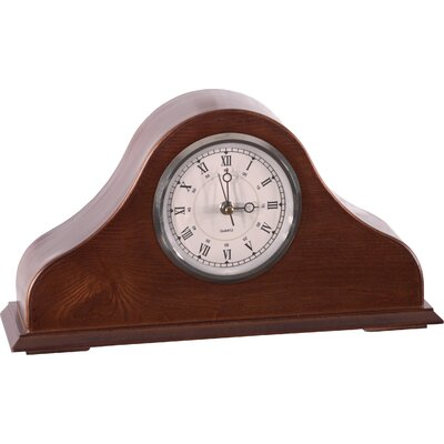 American Furniture Classics Remington Mantel Clock in Burnished Brown Cherry at Sears.com