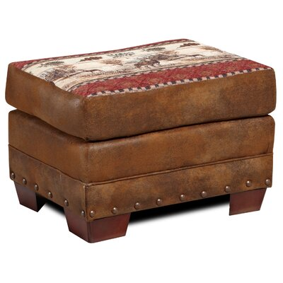 Lodge Deer Valley Ottoman