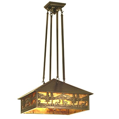 Deer Lodge 3-Light Pendant