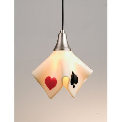 Metro Fusion Suited Handkerchief 1-Light Mini Pendant